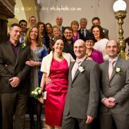 Bath Registry Office Wedding photography - Group shot