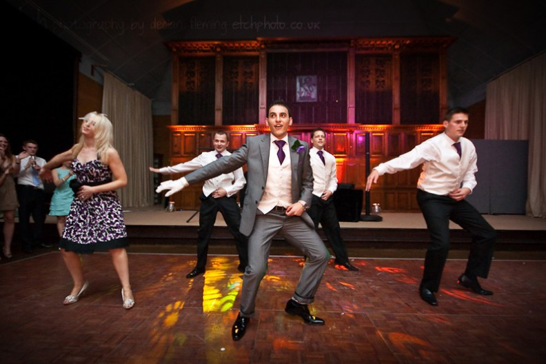 Bristol Wedding Photography - Thriller dance!