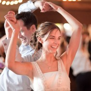 Bristol Wedding Photographer in Milton Keynes - Bride Dancing