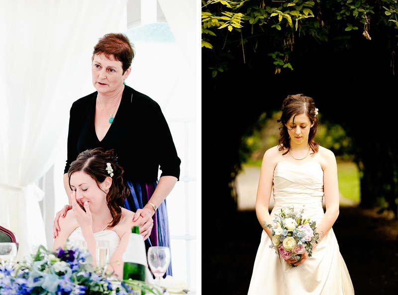 bridal photos at tortworth court gloucestershire